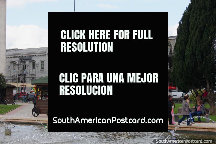 Historic buildings around the Plaza de Armas in Osorno. (720x480px). Chile, South America.