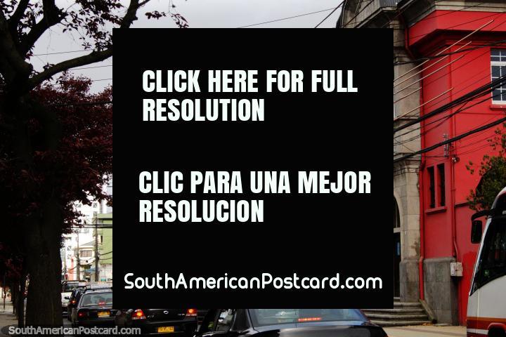 Osorno Municipal Historical Museum (1946), historic building in Osorno. (720x480px). Chile, South America.