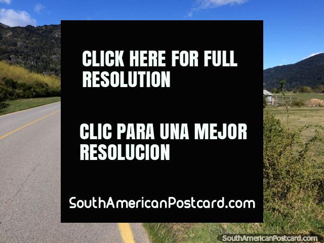 Haciendo autostop desde la frontera con Argentina hasta Futaleufú, 10km, ¡obtuve un aventón! (640x480px). Chile, Sudamerica.