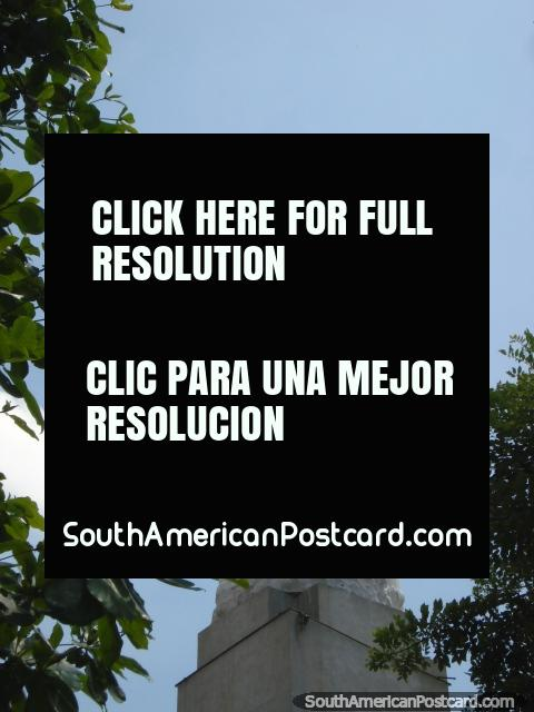 Cristo Rey Jesus statue in Cucuta. (480x640px). Colombia, South America.