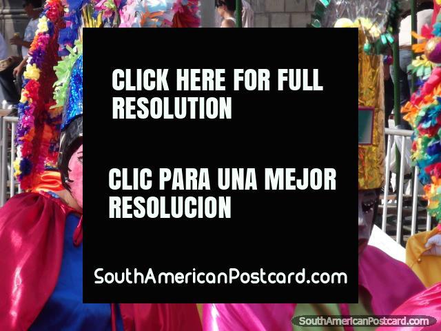 Los Diablitos Alegres del Santa Fe de Antioquia más muchas otras acciones de toda la Colombia realizan en el Carnaval Barranquilla. (640x480px). Colombia, Sudamerica.