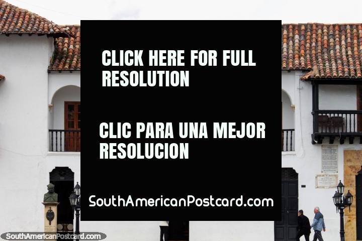 Museo la Casa del Fundador Gonzalo Suarez Rendon, museum honoring the founder of Tunja. (720x480px). Colombia, South America.