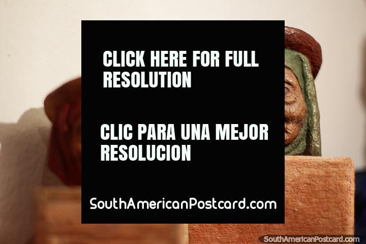 Casa Museu Luis Alberto Acuna - aloja os trabalhos deste pintor do 20o século e muralist em Villa de Leyva. (720x480px). Colômbia, América do Sul.