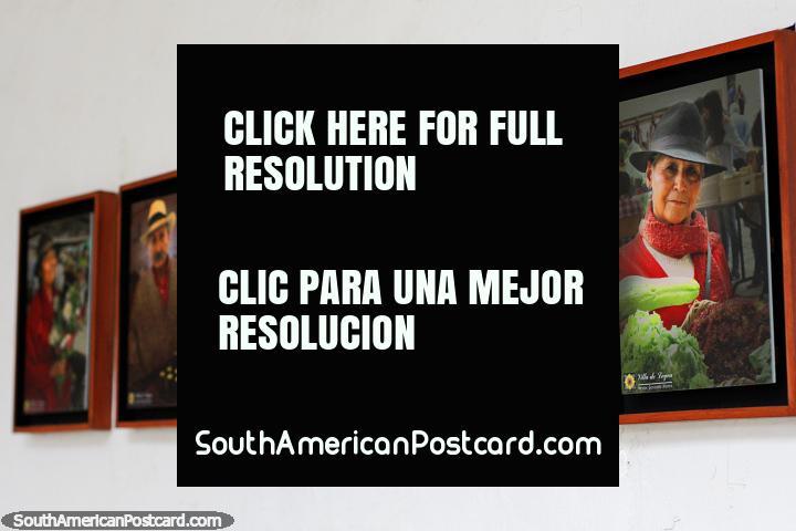 Série de fotos que retratam pessoas da cultura local em Villa de Leyva. (720x480px). Colômbia, América do Sul.
