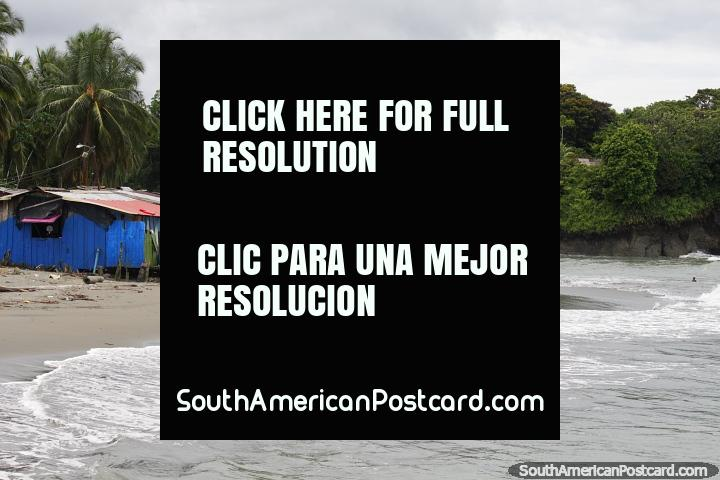 Arriving at Juanchaco beach, an hour north of Buenaventura. (720x480px). Colombia, South America.
