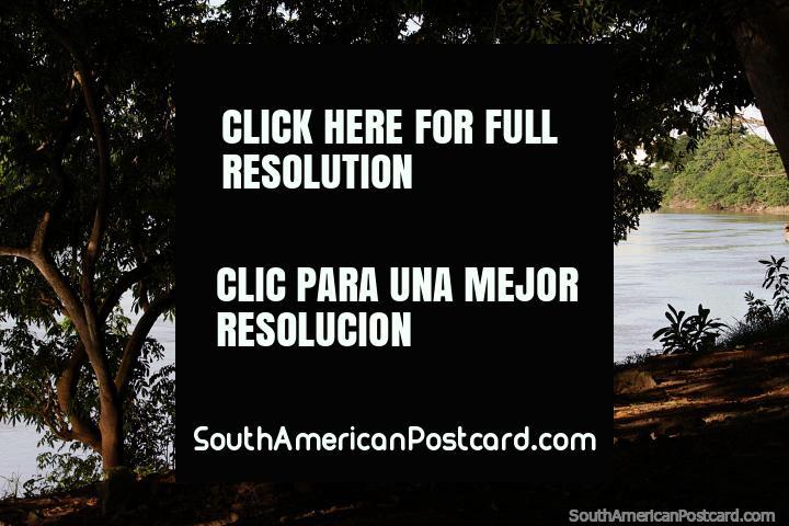 The river park in Monteria - Parque Ronda del Sinu is a great attraction. (720x480px). Colombia, South America.