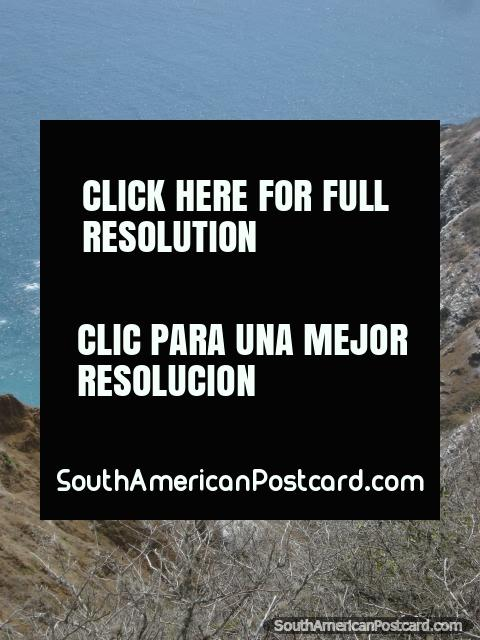 Isla de la Plata is about 40km off the coast of Puerto Lopez. (480x640px). Ecuador, South America.