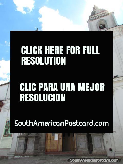 Monastery in Quito, Monasterio de el Carmen Alto. (480x640px). Ecuador, South America.