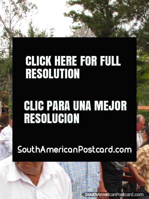 Fiestas Patronales en honor al Sagrado Corazon de Jesus, July 2011 in Vilcabamba. (480x640px). Ecuador, South America.