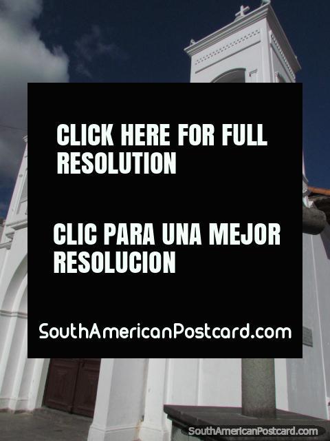 San Sebastian Church in Latacunga. (480x640px). Ecuador, South America.