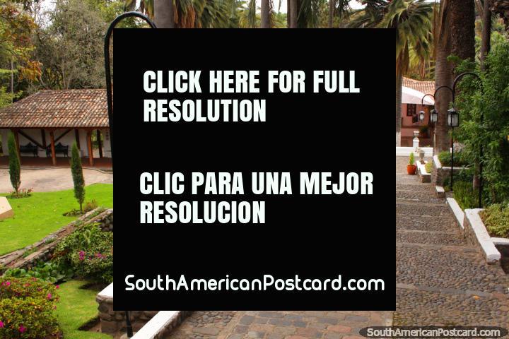 The house of Juan Leon Mera at Ambato botanical gardens, one of 3 famous Juans. (720x480px). Ecuador, South America.
