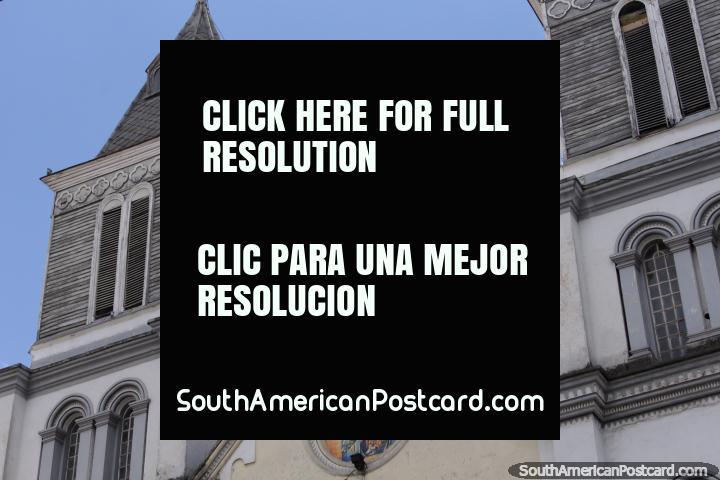 Iglesia San Alfonso, one of many churches in Riobamba. (720x480px). Ecuador, South America.