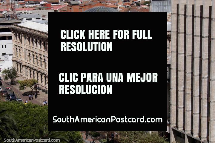 El Palacio de Justicia de Cuenca - Corte Provincial de Justicia del Azuay. (720x480px). Ecuador, Sudamerica.