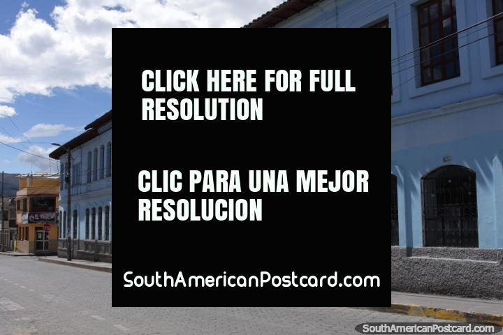 Santa Luisa de Marillac College in Machachi. (720x480px). Ecuador, South America.