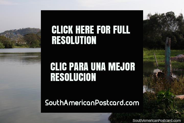 The Esmeraldas River in the same city on the northern coast. (720x480px). Ecuador, South America.