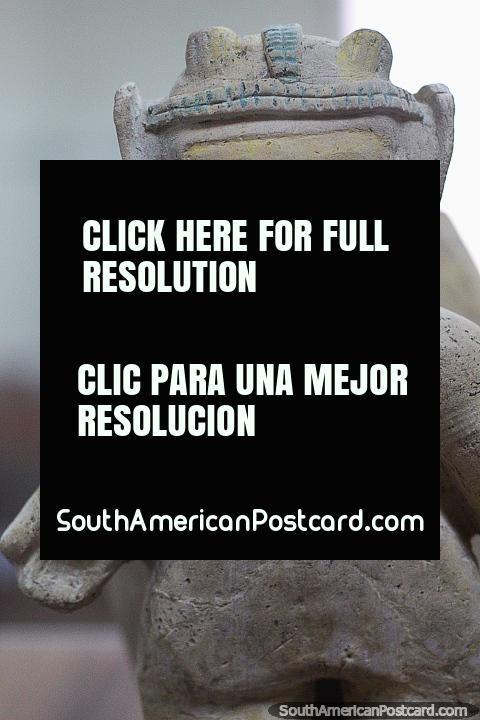 Jama has a museum that displays a small bunch of ceramic figures. (480x720px). Ecuador, South America.