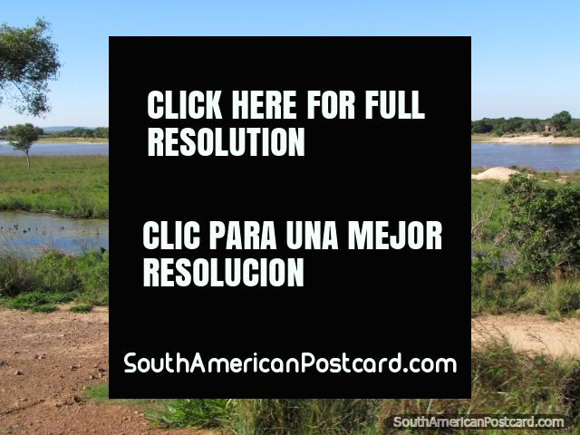 Tebicuary River in Villa Florida, beaches, camping and ranch tours. (640x480px). Paraguay, South America.