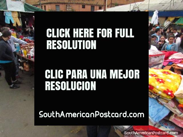50-70% discounted products and goods for sale at Guasu Markets, Asuncion. (640x480px). Paraguay, South America.