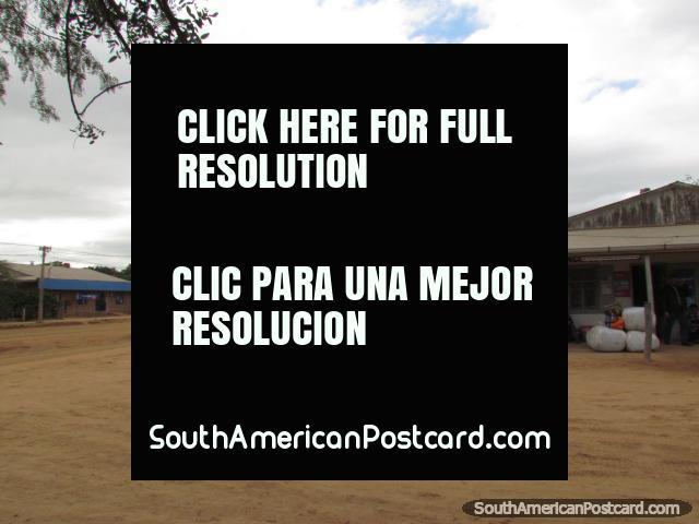 Filadelfia bus terminal. (640x480px). Paraguay, South America.