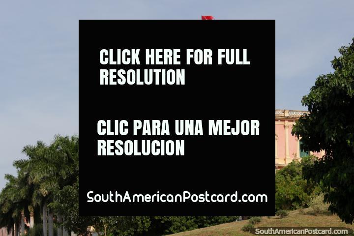 Palacio de Lopez in Asuncion, where the president works. (720x480px). Paraguay, South America.