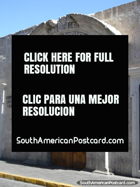 Arequipa, Complejo Cultural Universidad San Agustin. (480x640px). Peru, South America.