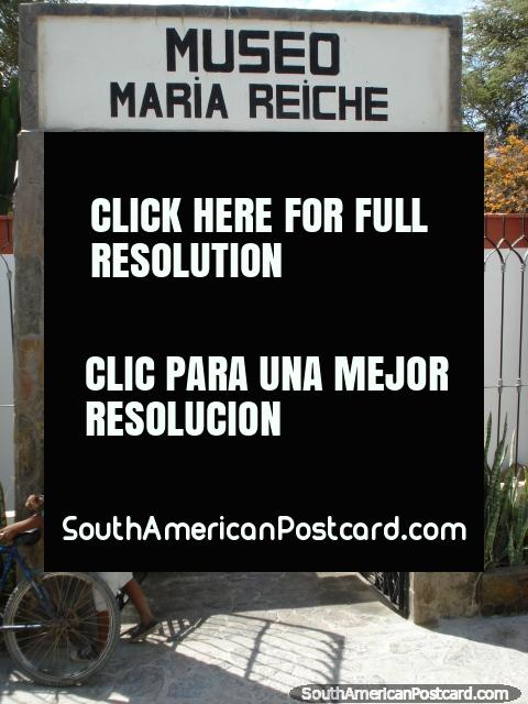 Museo Maria Reiche near Nazca. (480x640px). Peru, South America.