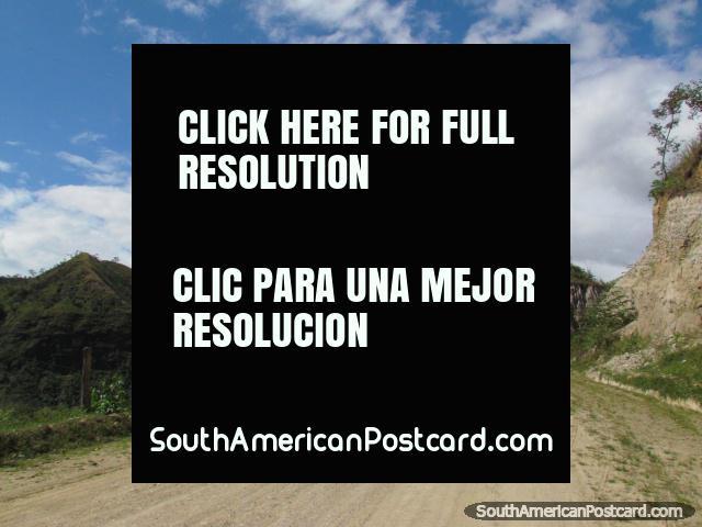 Scenic drive from La Balza to San Ignacio, 1hr 20mins. (640x480px). Peru, South America.