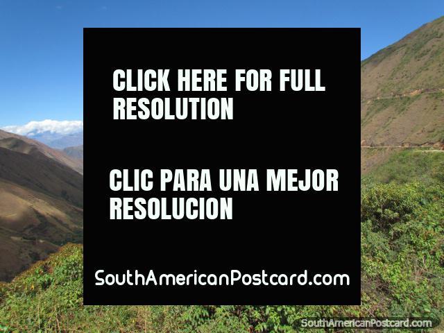 Nas colinas no caminho a Celendin. (640x480px). Peru, América do Sul.