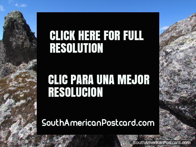 Rockscapes of Cumbemayo near Cajamarca. (640x480px). Peru, South America.
