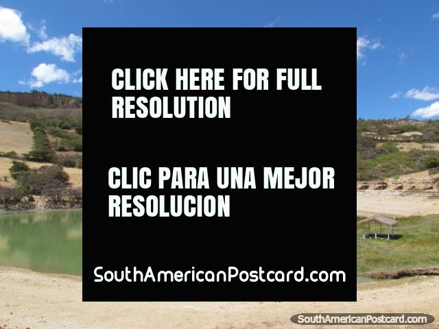 Laguna Ponte, 15mins drive from Cajabamba. (640x480px). Peru, South America.