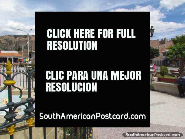 Plazuela Belen in Huaraz. (640x480px). Peru, South America.
