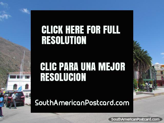Plaza de Armas in Abancay. (640x480px). Peru, South America.