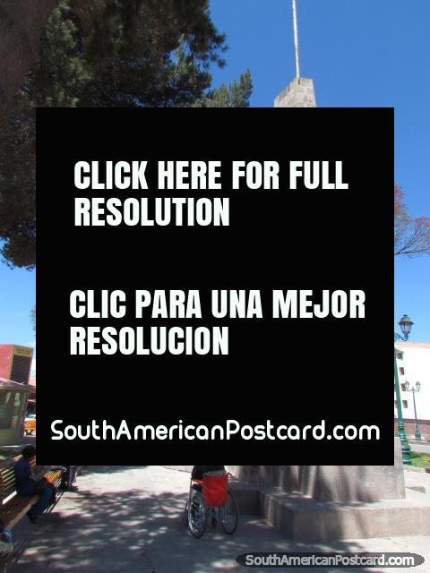 Parque Orellana Pumaochupan, park in Cusco. (480x640px). Peru, South America.