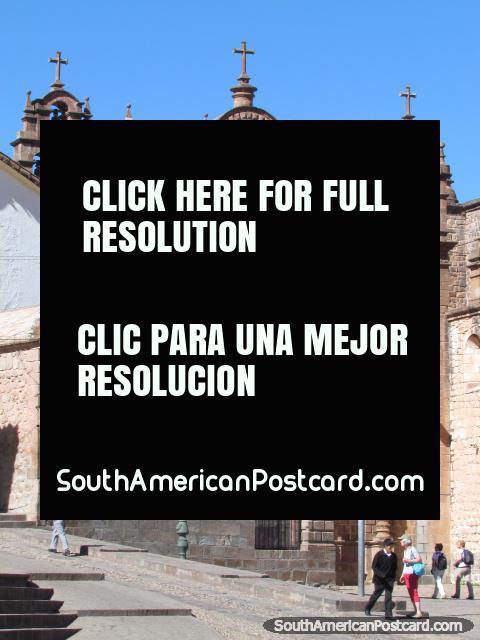 Capilla del Santisimo Sacramento in Cusco. (480x640px). Peru, South America.