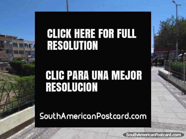 Yunguyo Plaza de Armas. (640x480px). Peru, South America.