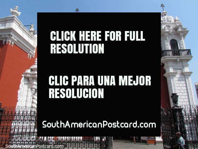 Igreja Parroquia San Marcelo (1585) em Lima. (640x480px). Peru, América do Sul.