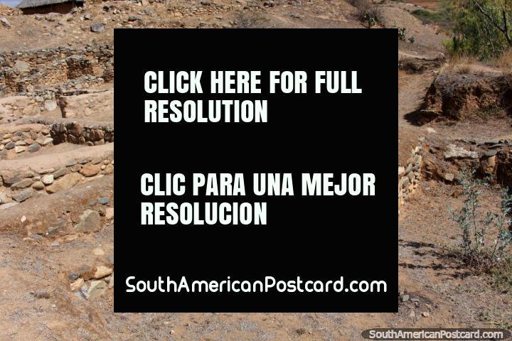Kotosh Sajarapatac, ruins near Huanuco, rediscovered in the 1930s. (720x480px). Peru, South America.