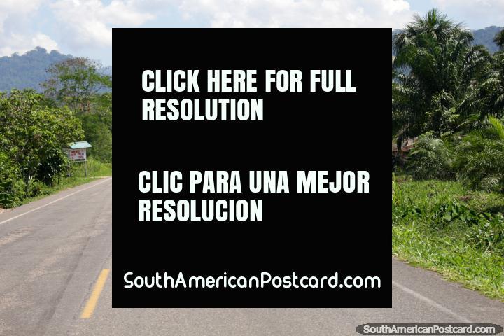 I left Tingo Maria and headed to Tocache, 2hrs 20mins, a good road. (720x480px). Peru, South America.