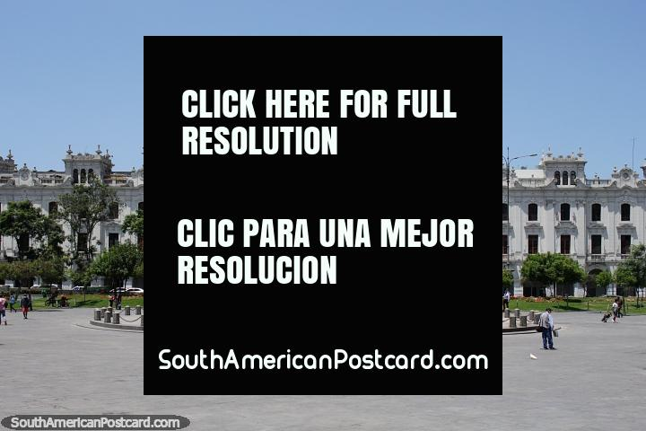 Lima, Peru - City Tour & How To Stay Safe In The Capital. Lima is a huge, busy and bustling capital city known as the capital of food. It also has much to see including historic buildings, churches and the beautiful Plaza de Armas with colorful flower gardens. You need at least a few days to see Lima!
