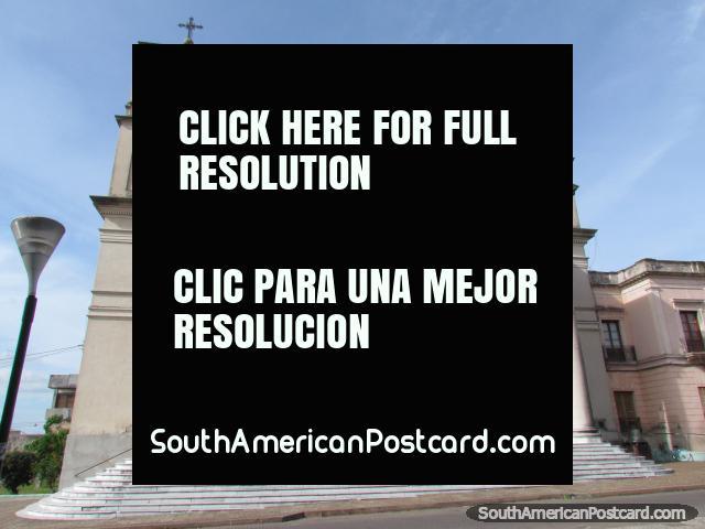 Basilica Nuestra Senora del Rosario y San Benito de Palermo, church in Paysandu. (640x480px). Uruguay, South America.