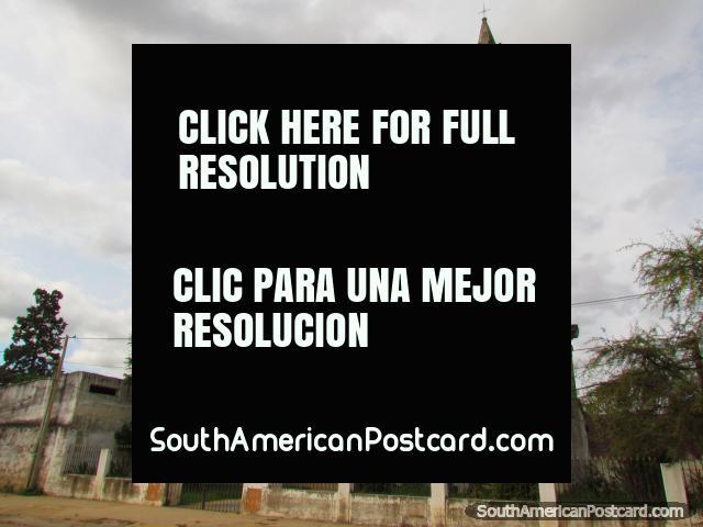 Parroquia San Ramon, old church near the port in Paysandu. (640x480px). Uruguay, South America.