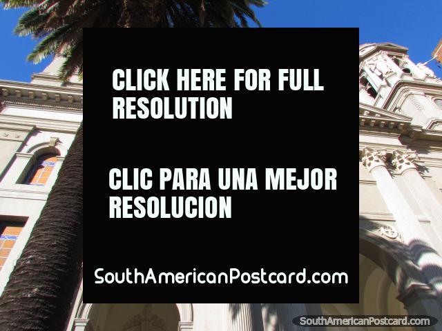 Cathedral Nuestra Senora de las Mercedes front facade, Mercedes. (640x480px). Uruguay, South America.