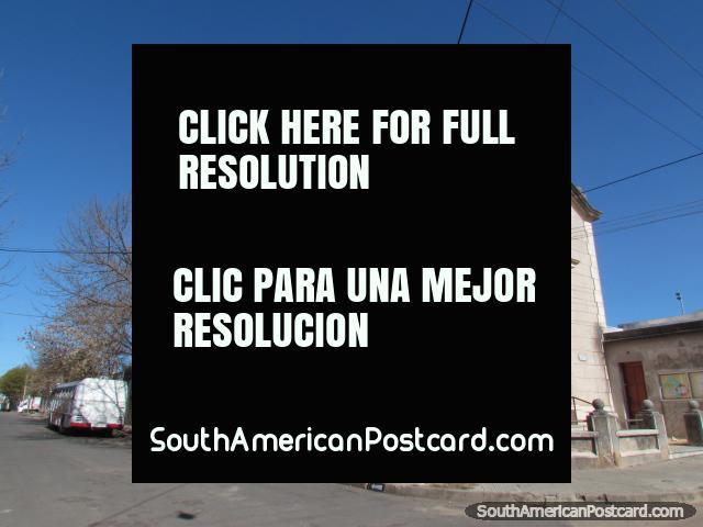 Church Sagrado Corazon (1952), Mercedes. (640x480px). Uruguay, South America.