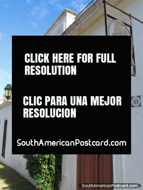 Santa Elena building in Colonia del Sacramento. (480x640px). Uruguay, South America.