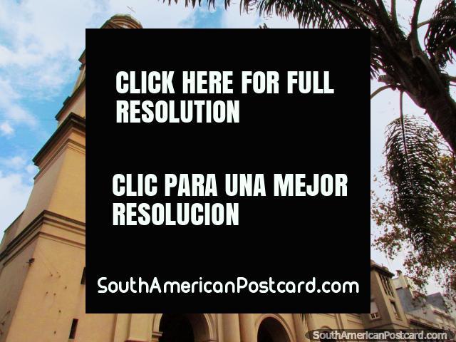 The Metropolitan Cathedral (Iglesia Matriz) in Montevideo. (640x480px). Uruguay, South America.