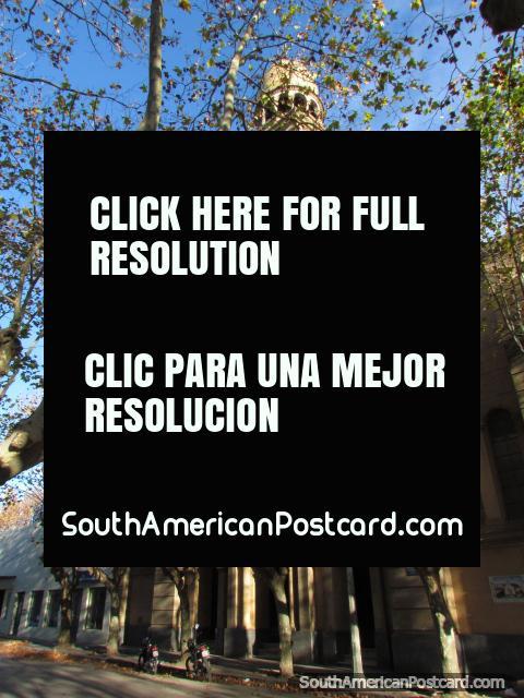 Church Iglesia San Pedro in Durazno, a National Historical Monument. (480x640px). Uruguay, South America.