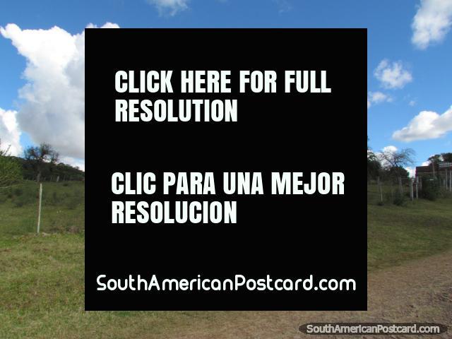 Carlos Gardel School at Valle Eden near Tacuarembo. (640x480px). Uruguay, South America.
