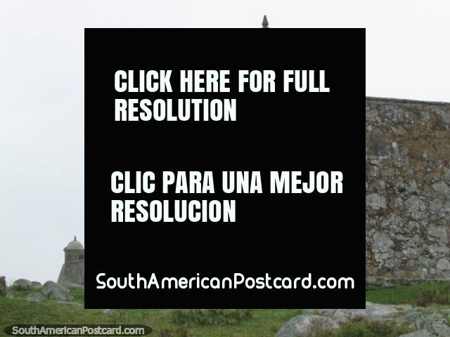 Fort San Miguel in Chuy was built between 1734 and 1737. (640x480px). Uruguay, South America.