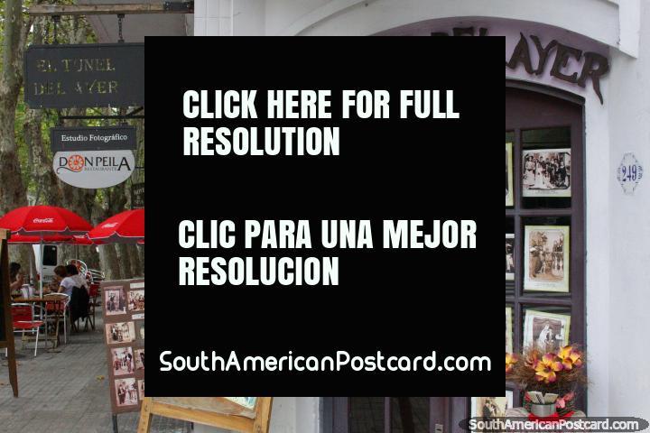 A museum of photographs called El Tunel del Ayer in Colonia del Sacramento. (720x480px). Uruguay, South America.