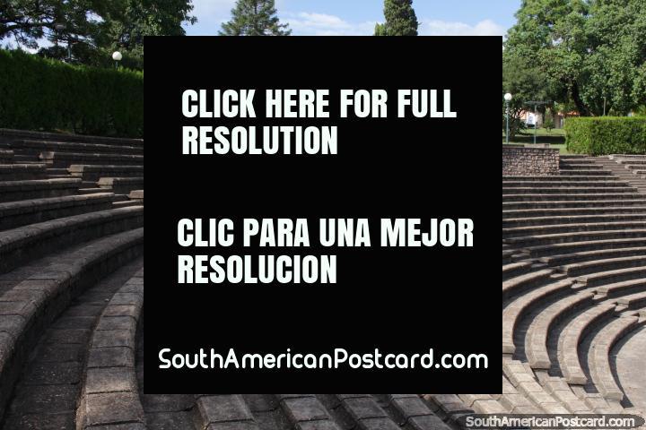 Outdoor theatre in Fray Bentos - Teatro de Verano. (720x480px). Uruguay, South America.